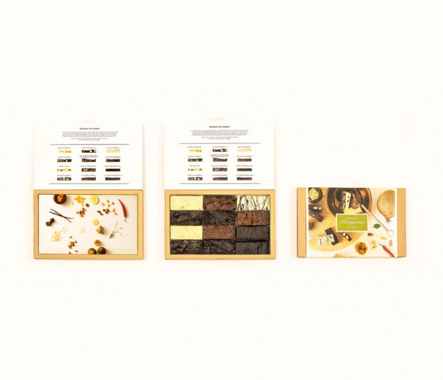 12 Piece Chocolate Bars Gift Box 4