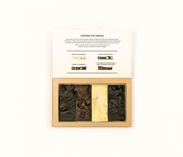 4 Piece Chocolate Bars Gift Box 2