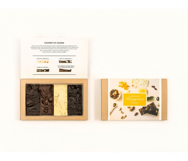 4 Piece Chocolate Bars Gift Box 3