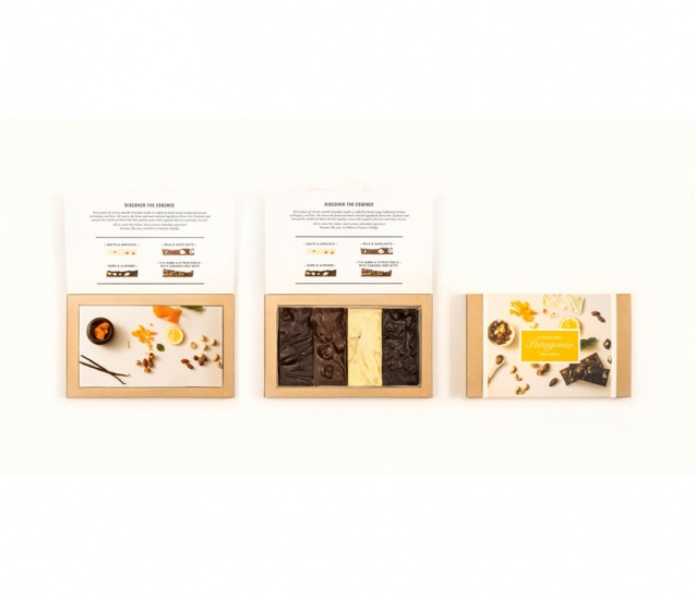 4 Piece Chocolate Bars Gift Box 4
