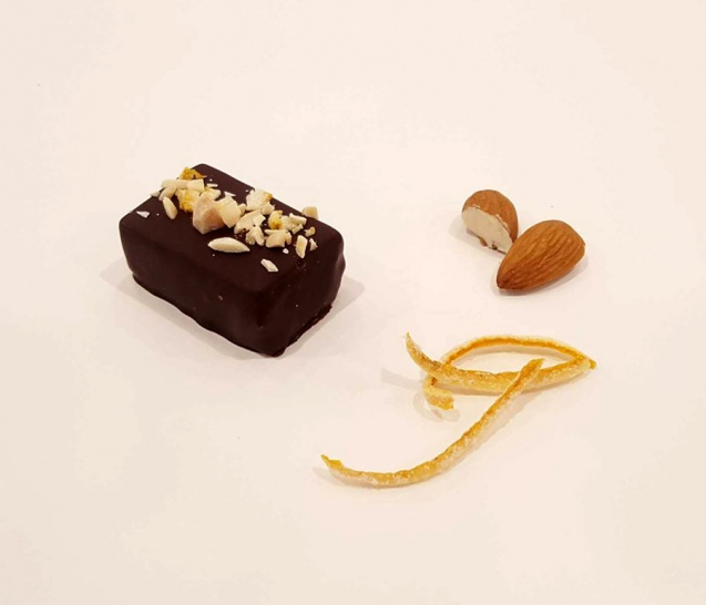 Chocolate Orange Almond Truffle